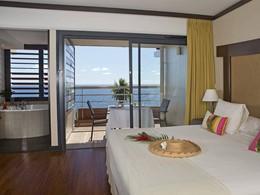 Premium Ocean View Jacuzzi® Room de l'hôtel Tahiti Pearl en Polynésie