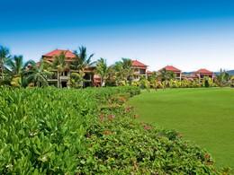 Le jardin de l'hôtel