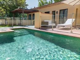 La Villa Méditerranée et sa belle piscine
