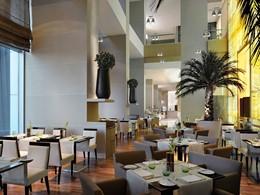 Le restaurant Na3Na3 de l'hôtel The Address à Dubaï