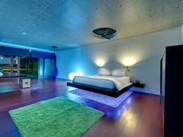 Intérieur très design de la Villa Sapi
