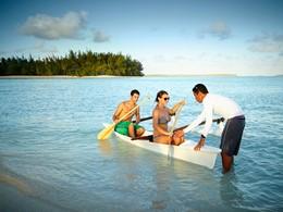 Activités nautiques de l'hôtel The Brando en Polynésie