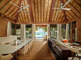 Three Bedroom Villa de l'hôtel de luxe The Brando en Polynésie