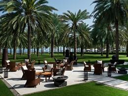 Le lounge de l'hôtel The Chedi à Oman