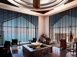 L'espace de relaxation du spa de l'hôtel The Chedi