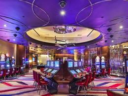 Le casino du Cosmopolitan of Las Vegas, aux Etats-Unis