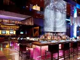 Le bar BOND du Cosmopolitan of Las Vegas, aux Etats-Unis