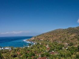 Vue aérienne de l'hôtel The Griya Villas and Spa