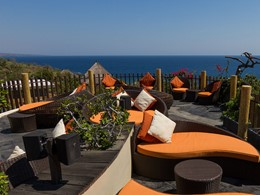 Autre vue du Rooftop Bar de l'hôtel The Griya