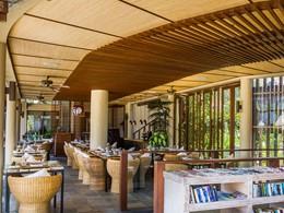 Autre vue du Safka Restaurant de l'hôtel The Griya
