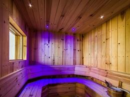 Le sauna de l'hôtel The Griya situé à Bali