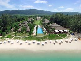Vue aérienne du Layana Resort & Spa en Thailande