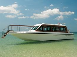 Le bateau de l'hôtel Layana Resort and Spa