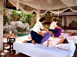 Le spa de l'hôtel 4 étoiles Legend Chiang Rai en Thailande