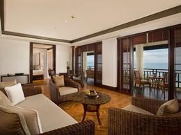 Autre vue de la Sunset Suite de l'hôtel The Legian