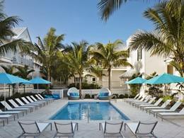 La superbe piscine de l'hôtel The Marker en Floride
