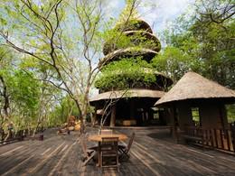 Restaurant Bali Tower de l'hôtel The Menjangan