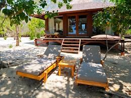 Beach Villa de l'hôtel The Menjangan à Bali