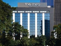 Vue de l'hôtel The Mira situé en Chine