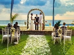 Mariage à l'hôtel The Oberoi situé à Bali