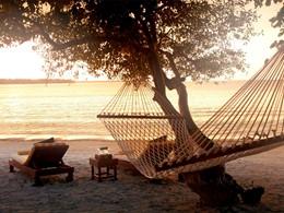 La plage de Medana de l'hôtel The Oberoi Lombok