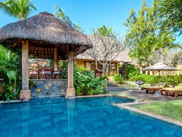 Villa deluxe avec piscine privée de l'hôtel Oberoi