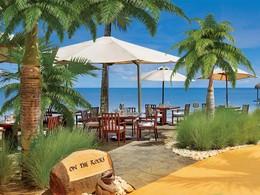 Restaurant On The Rocks de l'hôtel Oberoi à l'île Maurice