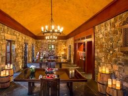 Le Gunpowder Room de l'hôtel The Oberoi Mauritius