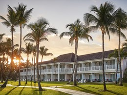 Vue des chambres de l'Ocean Club, a Four Seasons Resort