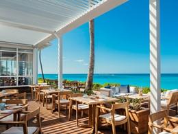 Cuisine gastronomique dans un cadre idyllique au restaurant le Dune de l'Ocean Club