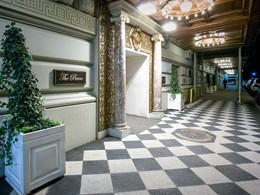 L'exterieur de l'hôtel
