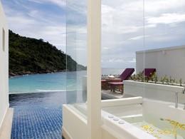Suite Grand avec piscine 2 chambres de l'hôtel The Racha