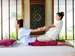 Le spa de l'hôtel The Racha situé en Thailande