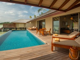 Terrasse de la Two Bedroom Beach Pool Villa