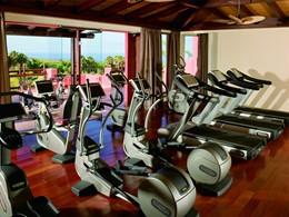 La salle de sport de l'hôtel The Ritz-Carlton Abama