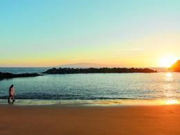 La plage du Ritz-Carlton Abama situé aux Canaries