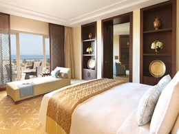 Junior Suite du Ritz Carlton à Dubai