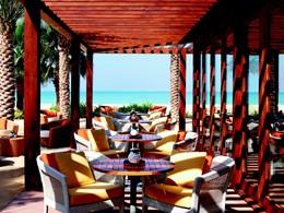 Palm Grill de l'hôtel Ritz Carlton à Dubai