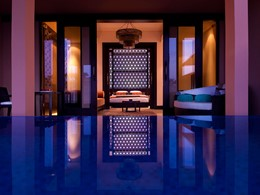 Piscine de l'Al Rimal Deluxe Pool Villa du Banyan Tree