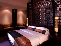 Al Rimal Deluxe Pool Villa du Banyan Tree Al Wadi