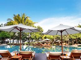 Piscine de l'hôtel Royal Beach Seminyak à Bali