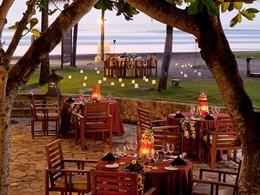 Capris Restaurant de l'hôtel Royal Beach à Seminyak