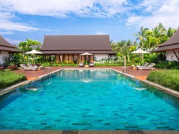 Leelawadee Villa de l'hôtel Sanchaya Bintan