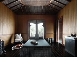 Le spa de l'hôtel Sanchaya situé sur l'île de Bintan