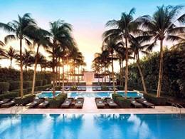 La superbe piscine de l'hôtel The Setai, à Miami