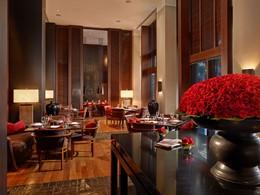 Le restaurant Jaya de l'hôtel The Setai, aux Etats-Unis