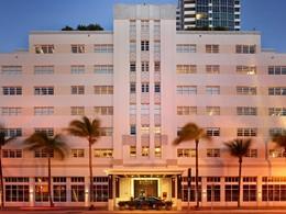 Vue extérieure de l'hôtel The Setai, situé à Miami Beach