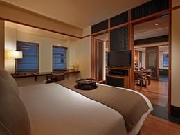 Junior Suite de l'hôtel The Setai, à Miami