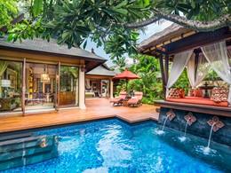 La piscine de la Gardenia Villa
