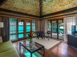 Overwater Superior Suite Villa Lagoon View